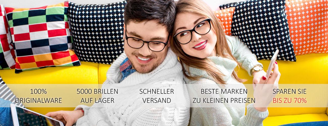 Brillen günstig online kaufen - Online Optiker Visionet